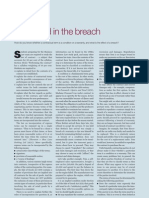 law article -  observed in breach