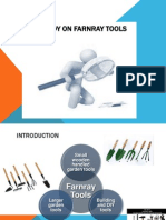 Case Study on Farnray Tools