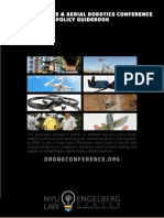 Drones and Aerial Robotics Conference Law & Policy Guidebook