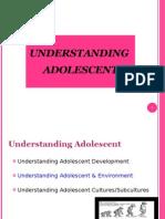 Understanding Adolescent