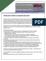 TTW - Form 9