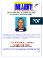 13-501476 Crime Stoppers