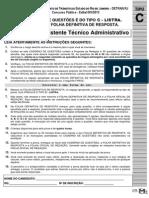 [PROVA] Assistente Técnico Administrativo