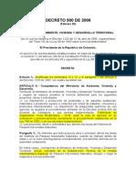 Decreto 500 de 2006