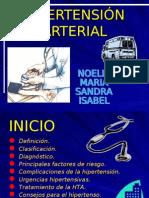 TALLER I  HIPERTENSIÓN ARTERIAL
