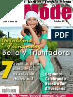 Le Mode TV Magazine Edicion Octubre 2013 Geraldine Fernandez
