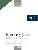 Teatro Adaptada Romeo y Julieta