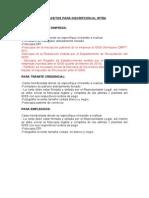 Requisitos Para Inscripcion Irtra