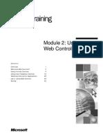 ASP.net - Module 2_Using Web Controls