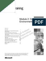VB.net - Module 2_Development Environment Features