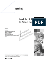 VB.net - Module 11_Upgrading to Visual Basic .NET