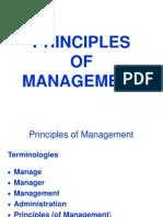Principles of Management PIMSAT