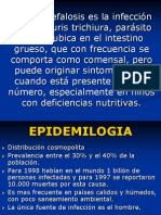 TRICOCEFALOSIS diapositivas
