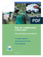 Natural Yard Care Booklet