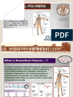 Presentation on Biomedical Polymers