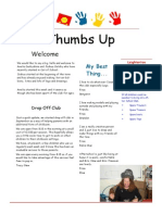 Thumbs Up Newsletter 3