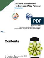 E-gov Success Factors Korea_isaac Kim