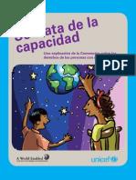 Se trata de la capacidad Libro para niños UNICEF
