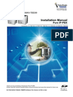 KX TDE Installation Manual 100 200