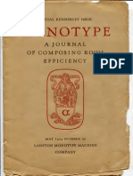 Monotype a Journal of c r e Whole No 70 1924 05 Kennerley 0600rgbjpg Text