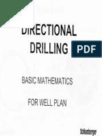 Basic Maths for Well Plan
