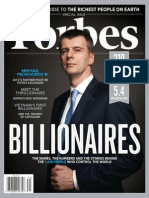 Forbes USA - 25 March 2013 Billionaires