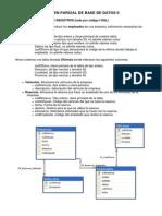 Examen Parcial de Base de Datos II 2012 II