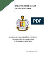 Metod Diseno Proectos Curric Compet