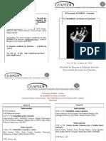 IV Encuentro CEAPEDI 2013 | Programa de actividades