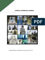 Monumentos ,Bustos y Esculturas en Campana.