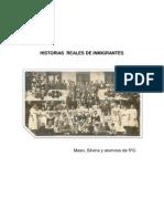 Historias de Inmigrantes.