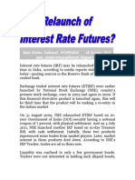 Relaunch of Interest Rate Futures-VRK100-18Oct2013