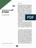 Indios y Gachupines en Puebla