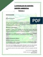 SISTEMA INTEGRADO DE GESTIÓN - SEMANA 1