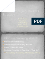 Heinz -Emerging Markets Strategy