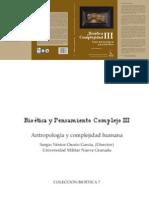 Sergio Nestor Osorio Bioetica y Pensamiento Complejo Bases Antropologicas Para La Bioetica