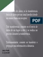 Teleprocesos (Transmision de Datos, Teletransferencia, Teletransmision)