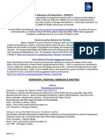 october2013 parent newsletter from cesa1