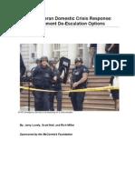 Combat Veteran Crisis Response Whitepaper