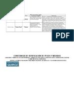Matriz de Requisitos Legales Para Transporte Terrestre