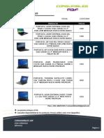 Catálogo portatiles