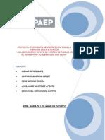 Proyecto Orientacion Educativa Completo y Corregido