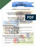 Tax Credit Info