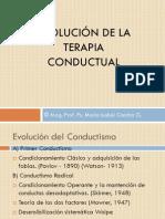Clase Evolucion Conductual