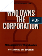 Who Owns the Corporation