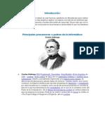 Resumen a Exponer - Histroria y Evolución de las Computadoras.