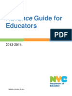 Advance Guide for Educators 101813