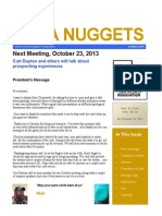 NUPA NUGGETS NEWSLETTER