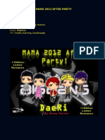 DaeRi- MAMA 2012 AFTER PARTY! --FFic OneShot