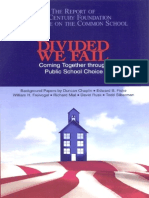""" Divided We Fail: